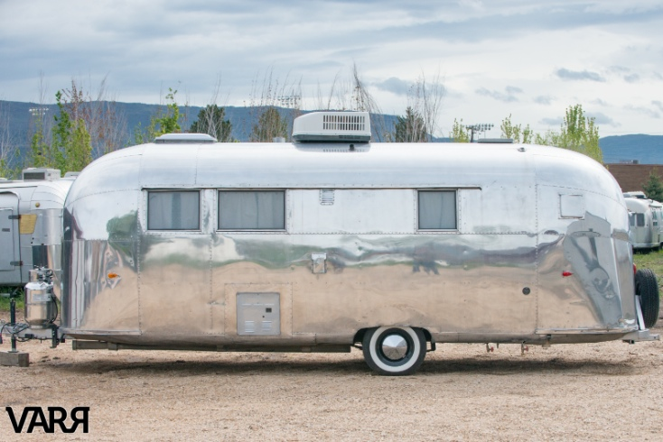 Restoration 1959 Tradewind Airstream Travel Trailer Varr