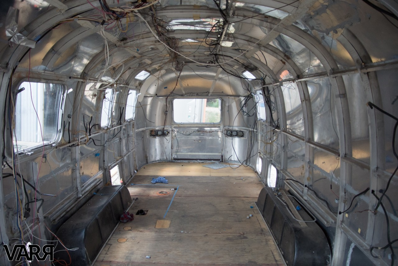 How To Frame A Jersey >> RESTORATION – 1975 Sovereign Airstream | VARR