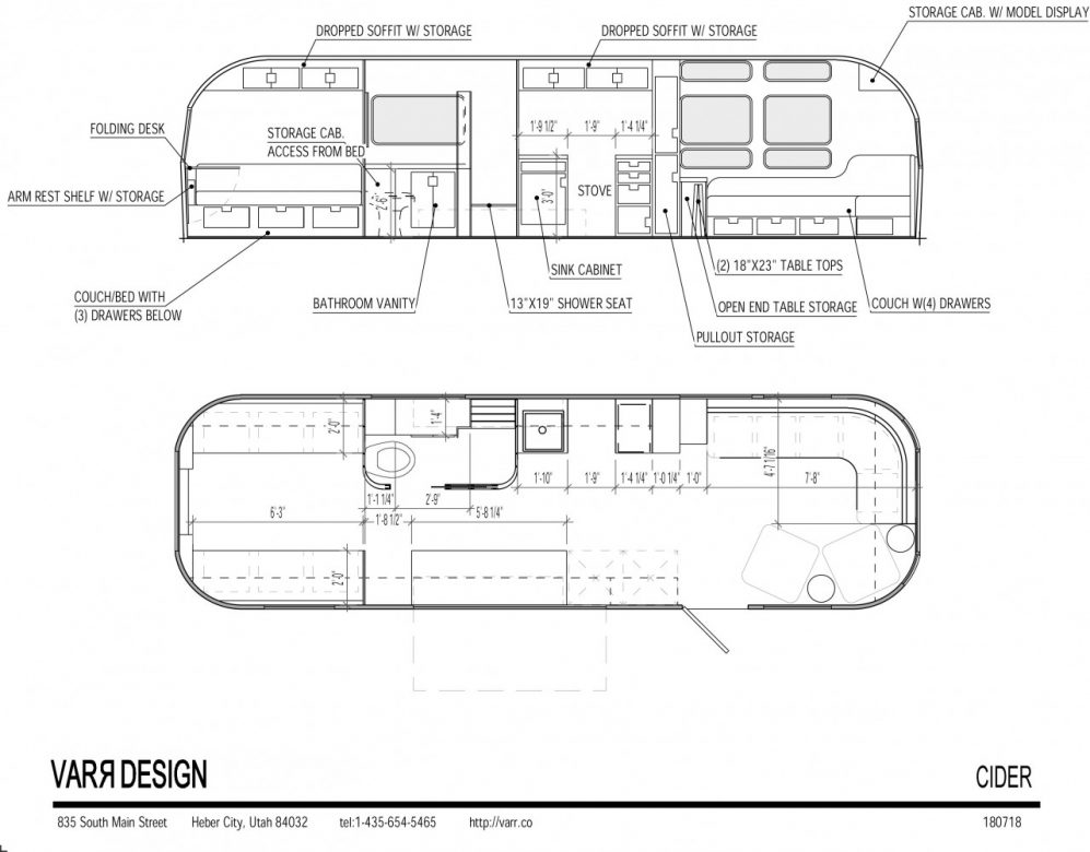 Airstream Cad Design By Varr