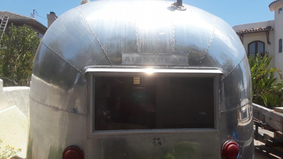 Vintage Airstream Trailer Awnings